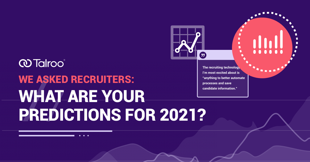 Recruiter Predictions for 2021 Survey.