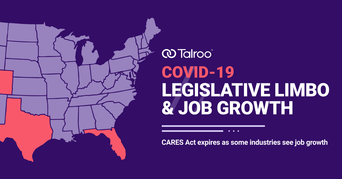 Infographic of COVID-19 legislative issues.