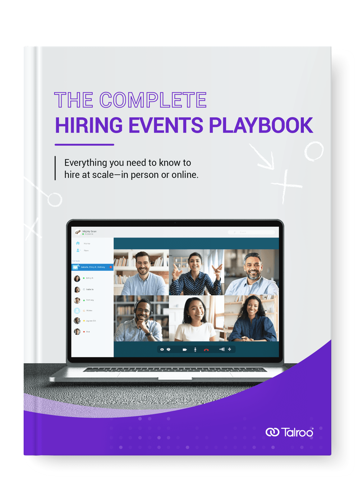 Talroo Complete Hiring Events Playbook eBook.