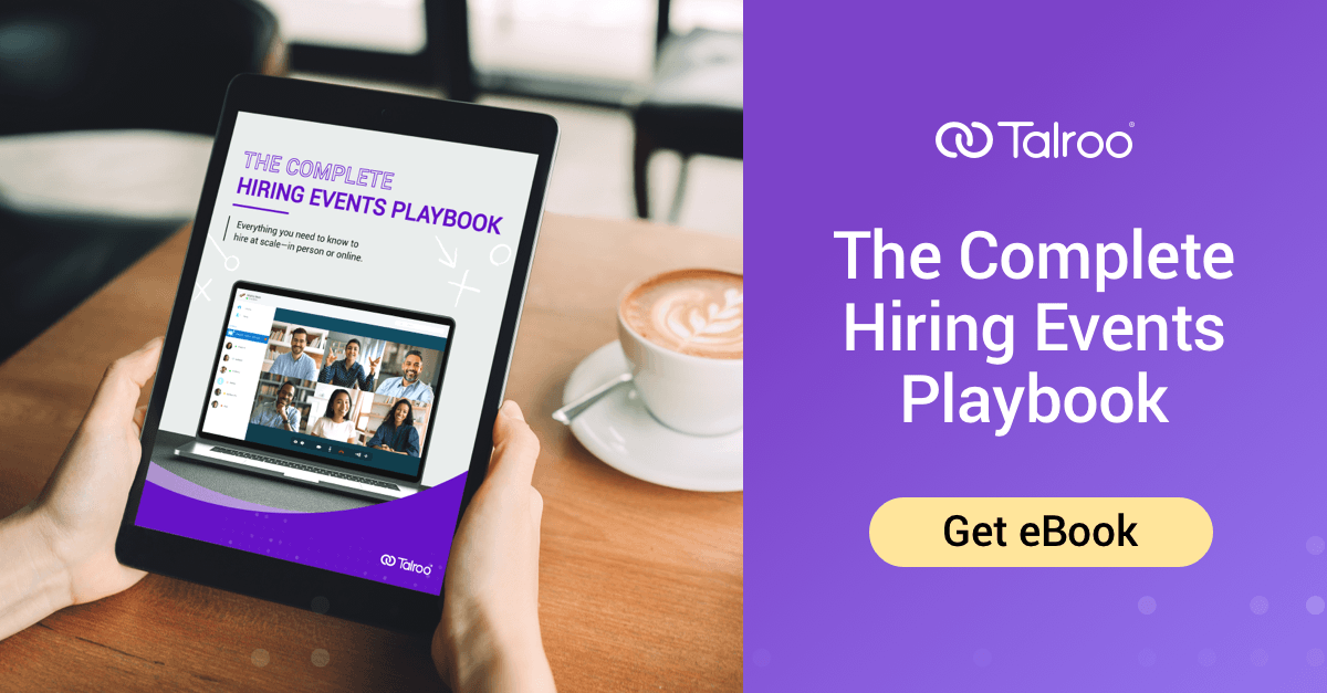 Talroo Complete Hiring Events Playbook.